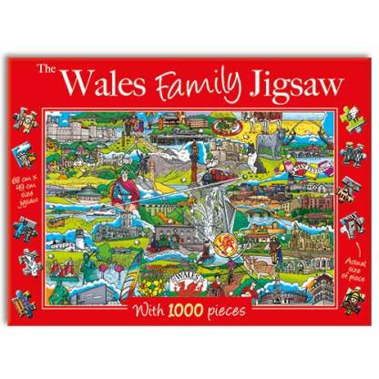 Wales Family Jigsaw Puzzle