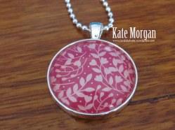 Love Blossoms Designer Costume Jewellery Necklace #stampinup @cardsbykate DIY
