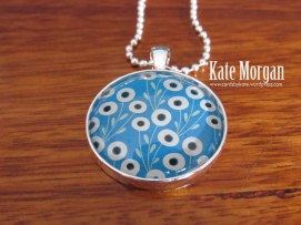 Pretty Petals Designer Costume Jewellery Floral Necklace #stampinup @cardsbykate DIY