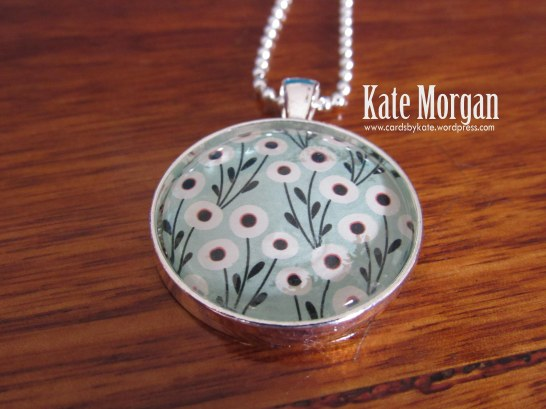 Pretty Petals Macaron Designer Costume Jewellery Necklace #stampinup @cardsbykate DIY