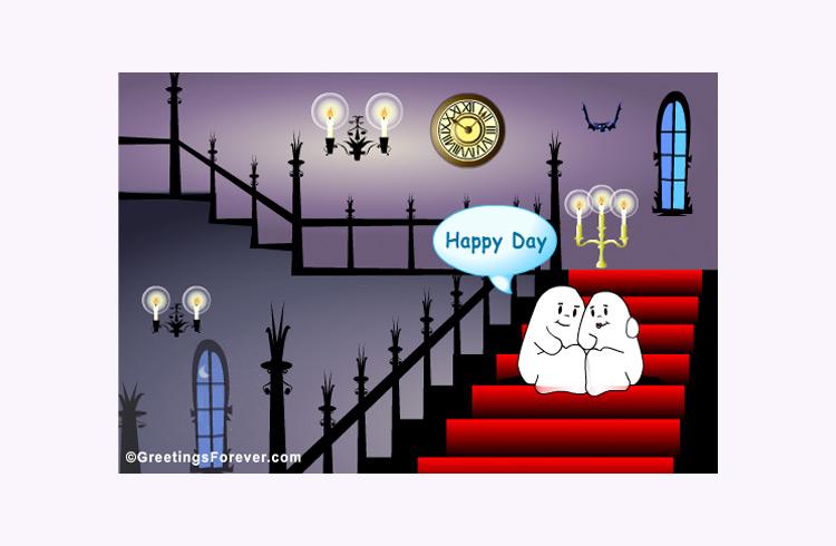 ghost make an ecard