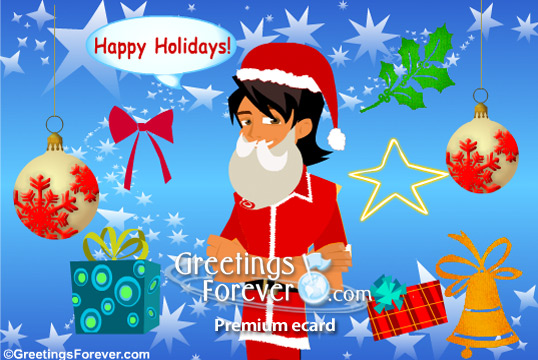 create your christmas greeting