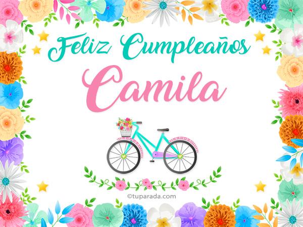 Nombre Camila Camila Tarjetas