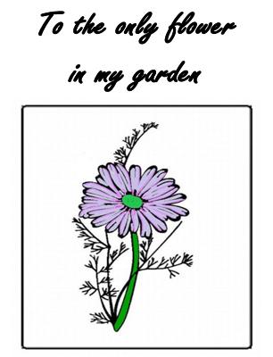 Daisy Anniversary Card