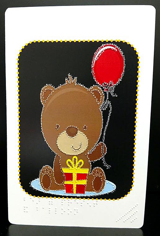 Birthday Bear Outside