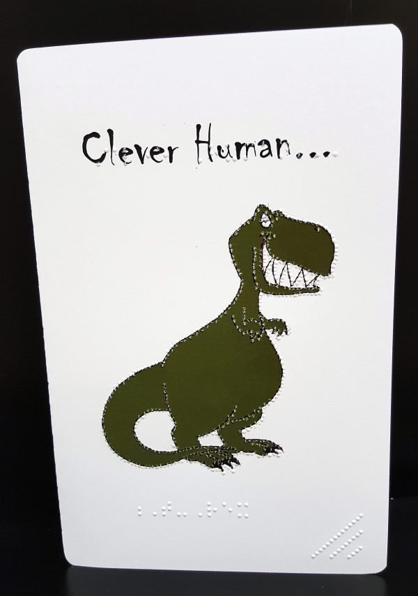 Dinosaur Card Outside