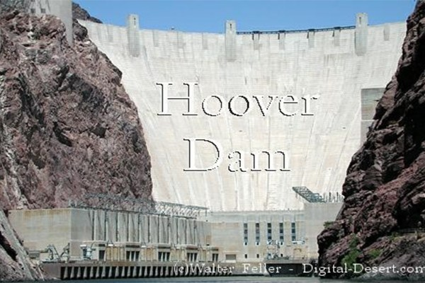 Hoover Dam Birthday Card