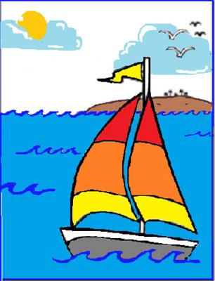 I Miss You Sailboat