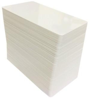 plasic cards white