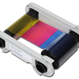 Evolis Half Panel YMCKO Colour Ribbon 400 Cards