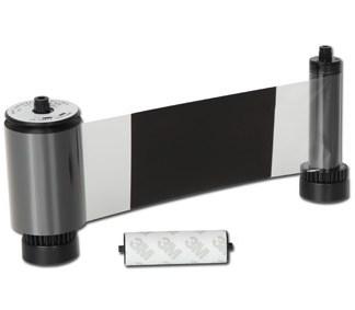 SMART Black Monochrome Ribbon with Overlay 600 Prints
