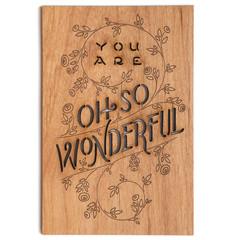 oh so wonderful card