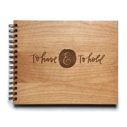 to have and to hold wedding album