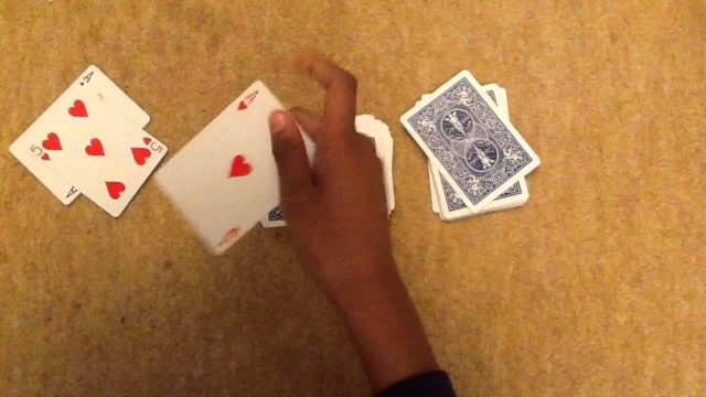 beginners card tricks