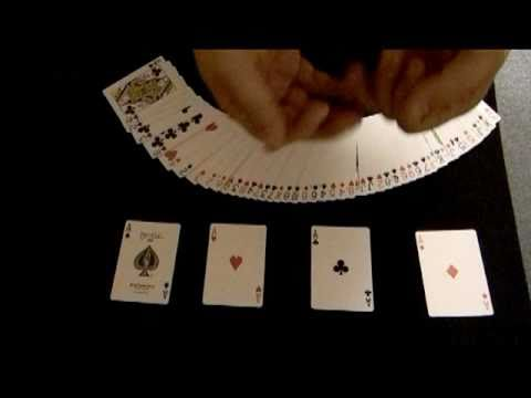 dream of aces card tricks