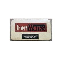 Iron Works Magazine Editors Choice Award Corbin 2013