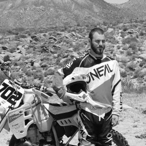 Pro Ironman Motorcycle Racer Tony Gera photo by Michael Accorsi