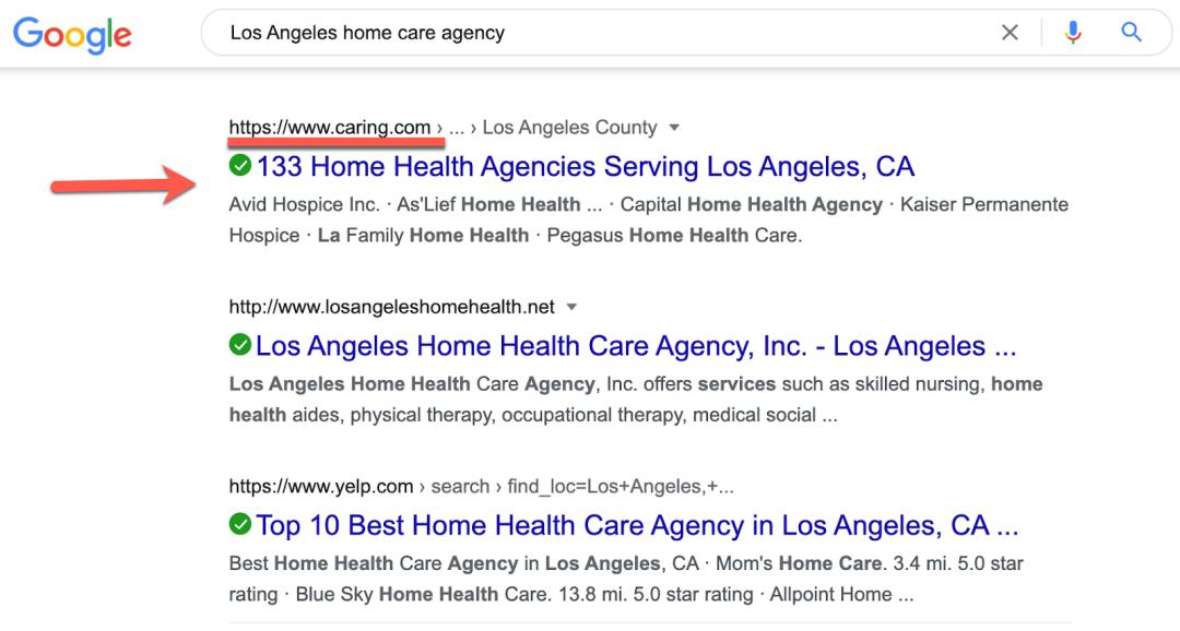 LA Home Care Agencies
