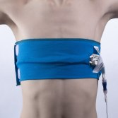 How to access your lines while wearing the CareAline central line wrap