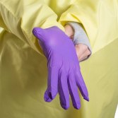 CareAline Isolation Gown Level 2  - Thumb Hole Cuffs for best glove coverage