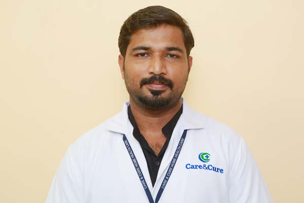 Arun Roy, Physiotherapist