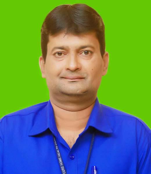 Jayakrishnan V., Marketing Co-ordinator