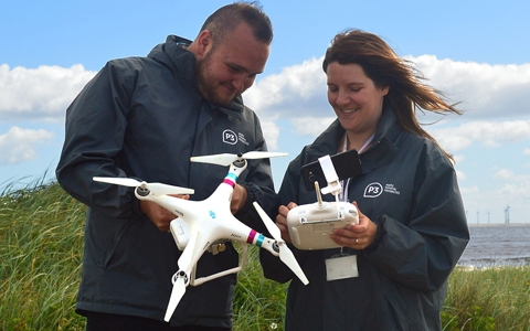 Charity embraces drone technology to look for rough sleepers in the countryside 2