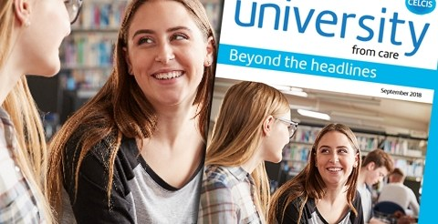 Report: Going To University From Care - Beyond The Headlines (CELCIS) 15
