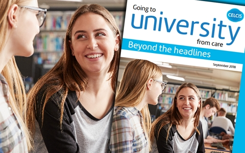 Report: Going To University From Care - Beyond The Headlines (CELCIS) 7
