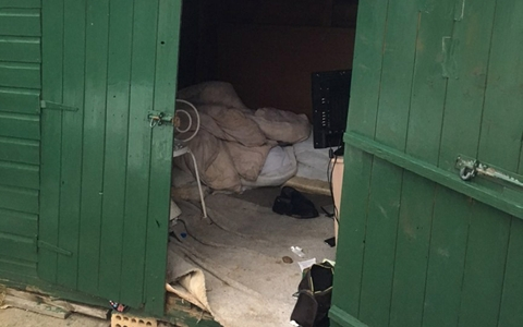 Specialist trauma officers rescue man who's been 'living in shed for 40 years' 10