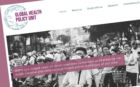 Webwatch: Edinburgh's Global Health Policy Unit launches new website 4