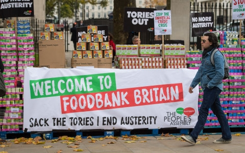 One in 10 young parents turning to food banks and skipping meals over money worries 1