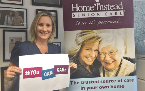 Minister helps launch home care company's latest recruitment campaign 10