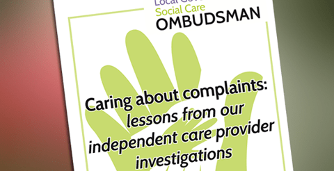 Resources: Caring about Complaints - Good practice guide for adult care providers 9