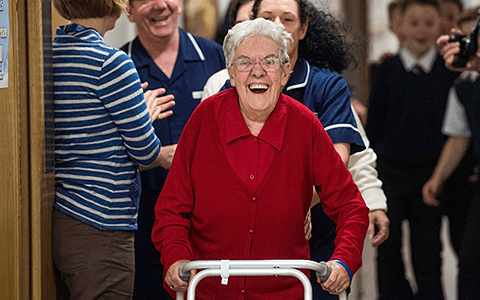 Resources: Care About Walking - Pack to help care home residents sit less and walk more 9