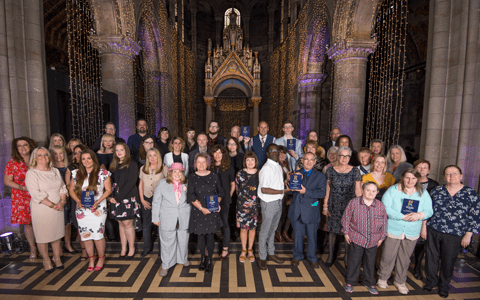 'Life changing work' of Scotland's social services recognised at 2019 awards 1