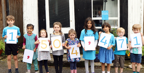 Mary's Meals celebrates milestone as more than 1.5 million children fed in schools 1