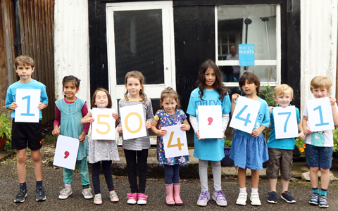 Mary's Meals celebrates milestone as more than 1.5 million children fed in schools 8
