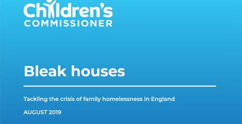 Report: Bleak Houses - Tackling the crisis of family homelessness in England 1