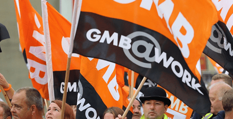 GMB warn of 'disastrous' black hole in social care recruitment across England 9