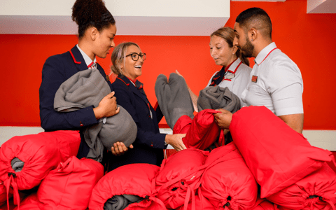 Virgin Trains to upcycle uniforms to provide scarves and blankets for homeless 1