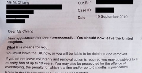 Home Office reverse visa application of young doctor ordered to leave UK 5