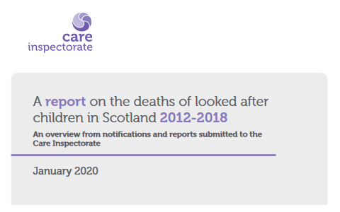 Report: Deaths of looked after children in Scotland 2012-2018 9