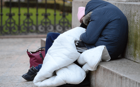Government urged to scrap 'national shame' of law criminalising rough sleepers 2