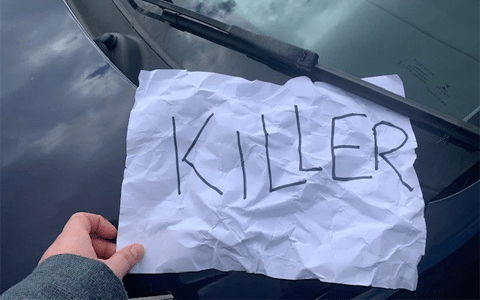 Adult care provider hits out at targeted abuse including scrawled 'killer' note left on car 3
