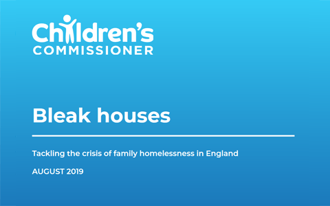 Report: Bleak Houses – Tackling the crisis of family homelessness in England