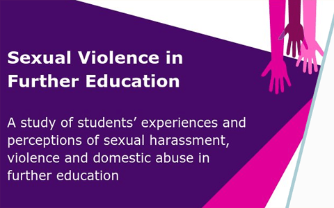 Report: Sexual Violence in Further Education – Nation Union of Students