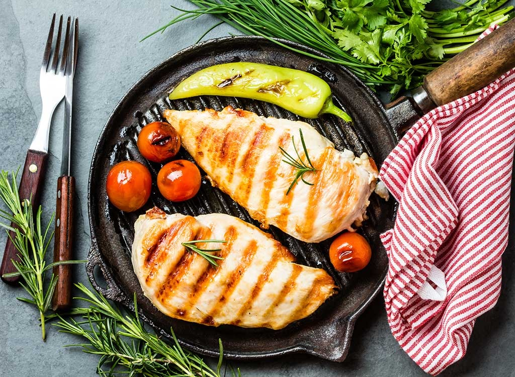 grilled chicken breast can reduce caregiver burnout