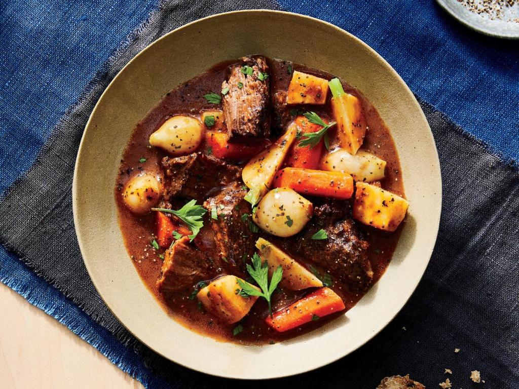 Beef Stew with Root Vegetables is a Fast and Easy Recipes for Caregivers
