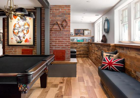 Gold - Maximilian Huxley Construction and Jodi Foster Interior Design - The Hangout - after